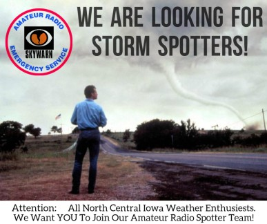 Storm Spotters Wanted - ARES